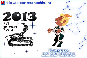 Гороскоп на 2013 год Козерог