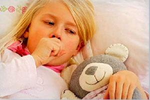 приступ кашля у малыша